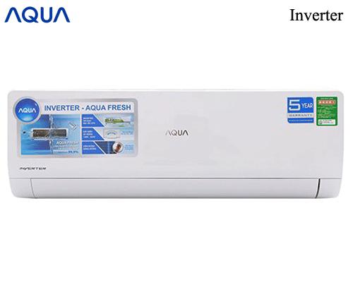 Máy lạnh AQUa KCRV9WGSB inverter 1Hp Model 2019