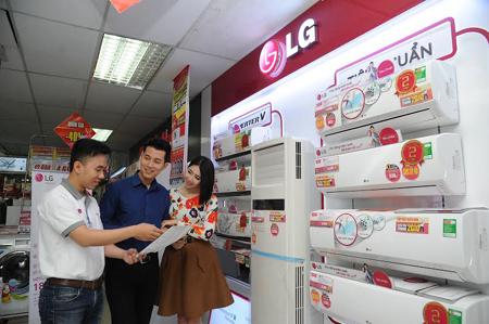 Mức tiêu thụ điện lạnh tăng mạnh tại thị trường Việt Nam